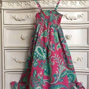 Children's Place strappy maxi dress 5-6